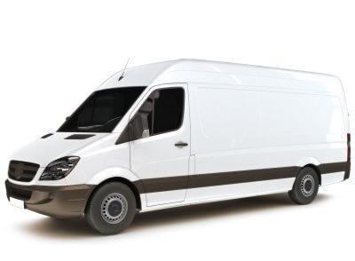 Unser Kleintransporter ist ein Mercedes Sprinter - Lastentaxi München